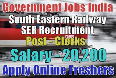 South Eastern Railway Recruitment 2019