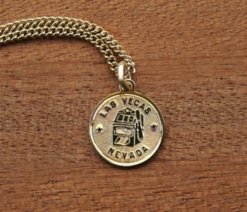 Hand-Crafted Jewelry From M Ference & Co.'s Timeless Engravings Las Vegas pendant