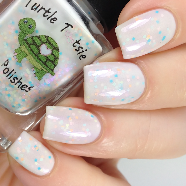 Turtle Tootsie Polishes-Paper Dots