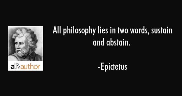 Epictetus Philosophy