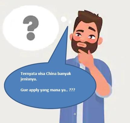 panduan apply visa china