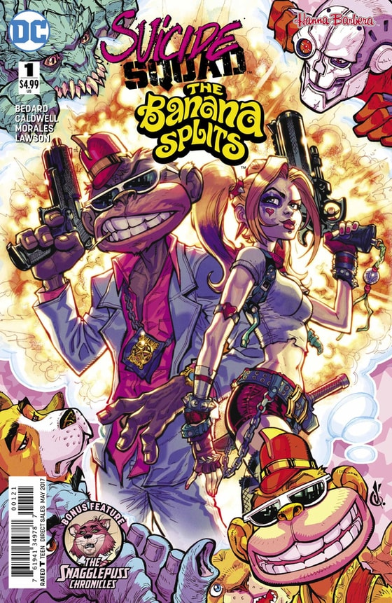 Suicide Squad and The Banana Splits #dc #dcuniverse #comicbooks #harleyquinn #queenofgotham #clownprincessofcrime #harleenquinzel #dccomics #dccomicsfan #dccomicsuniverse #bananasplit #hannabarbera #thebananasplits
