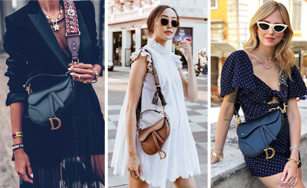 Dior saddle bag street style outfits, shop Dior saddle bag dupes