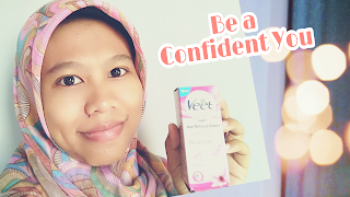 Be a confident you Veet Hair removal cream