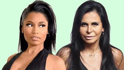 Nicki Minaj curte tweets de fãs com memes de Tulla Luana e Gretchen