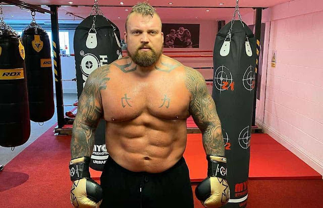 Eddie Hall Writes A Letter to UK Parliament Demands For Gyms To Reopen