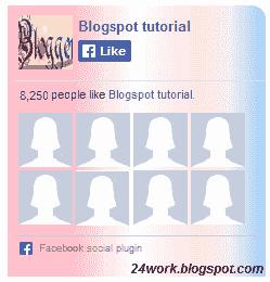 Customize Facebook Like Box