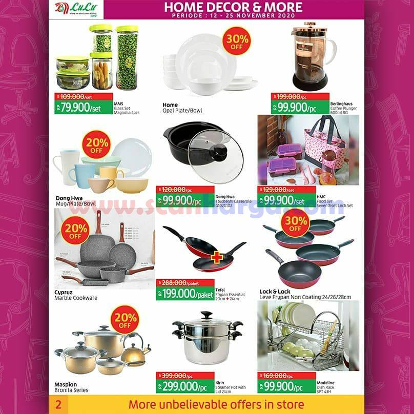 Katalog Promo LULU Supermarket 12 - 25 November 2020 2