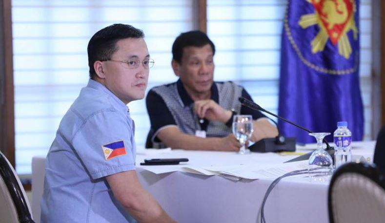 Senator Bong Go and President Rodrigo Duterte