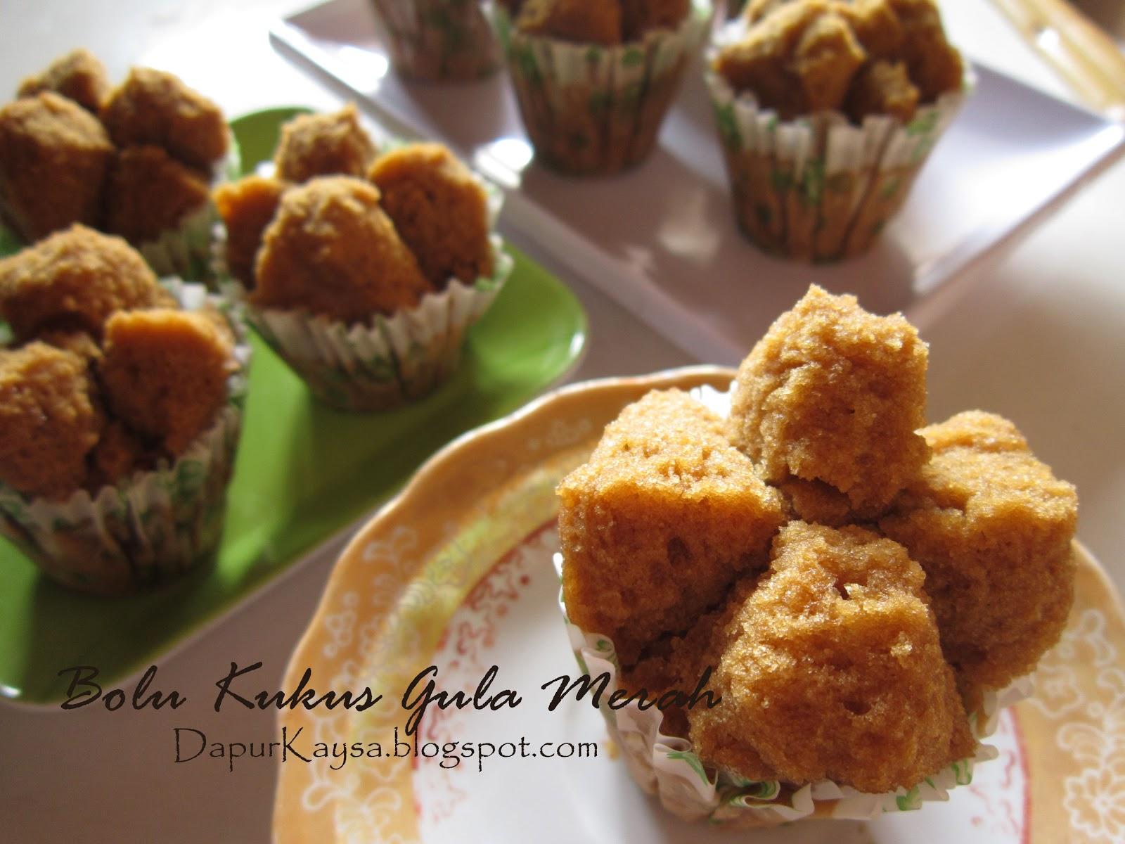 Resep Cake Coklat Kukus Ncc: Kaysa's Little Kitchen: Bolu Kukus Gula Merah