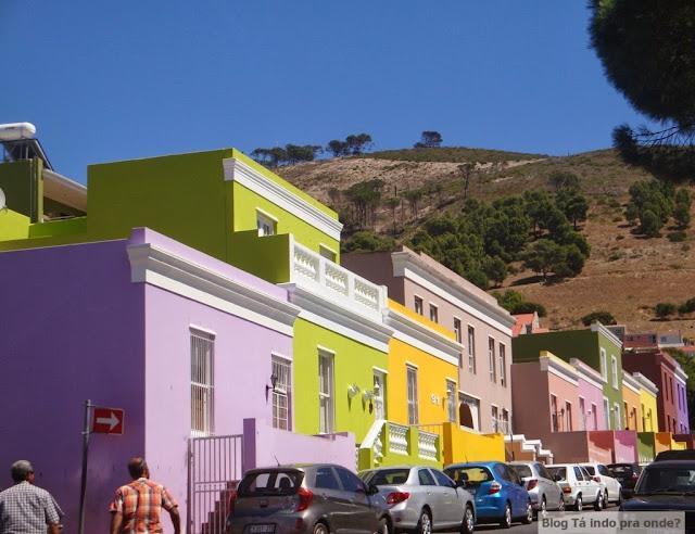 Bo-Kaap, Cidade do Cabo, África do Sul