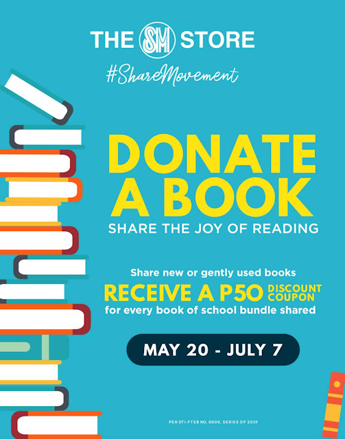 #SHAREMOVEMENT - DONATE-A-BOOK