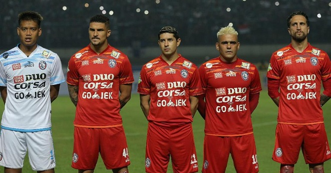 Key Player Arema FC 2017