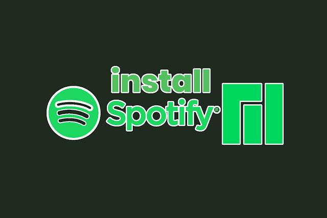 cara install spotify di manjaro linux