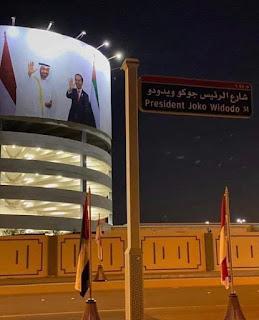 Jalan Joko Widodo di Arab Saudi