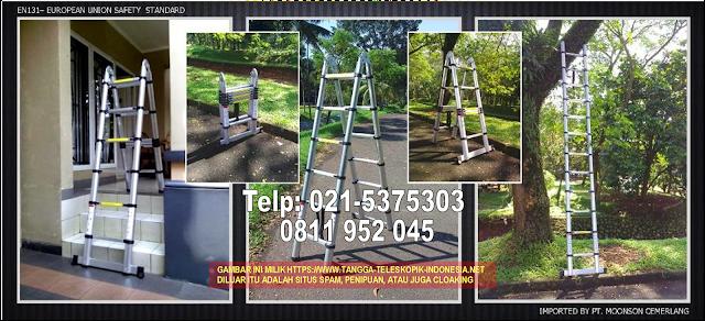 tangga-aluminium teleskopik