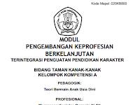 Modul PKB Guru TK Edisi Revisi Tahun 2017