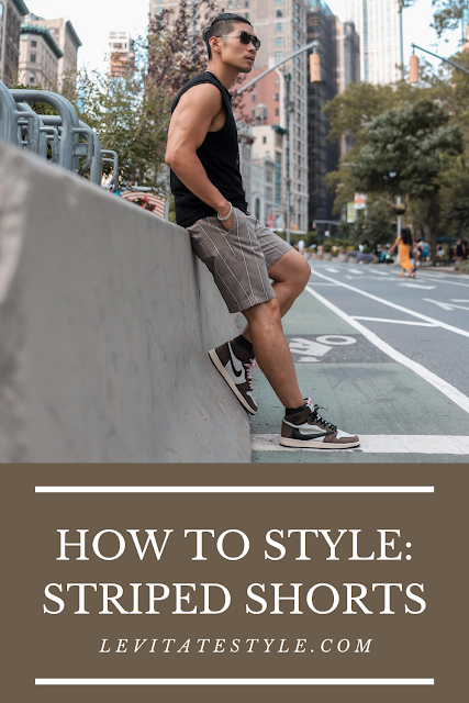 How To: Wear Striped Shorts | Men's Summer Fashion | Leo Chan, Levitate Style