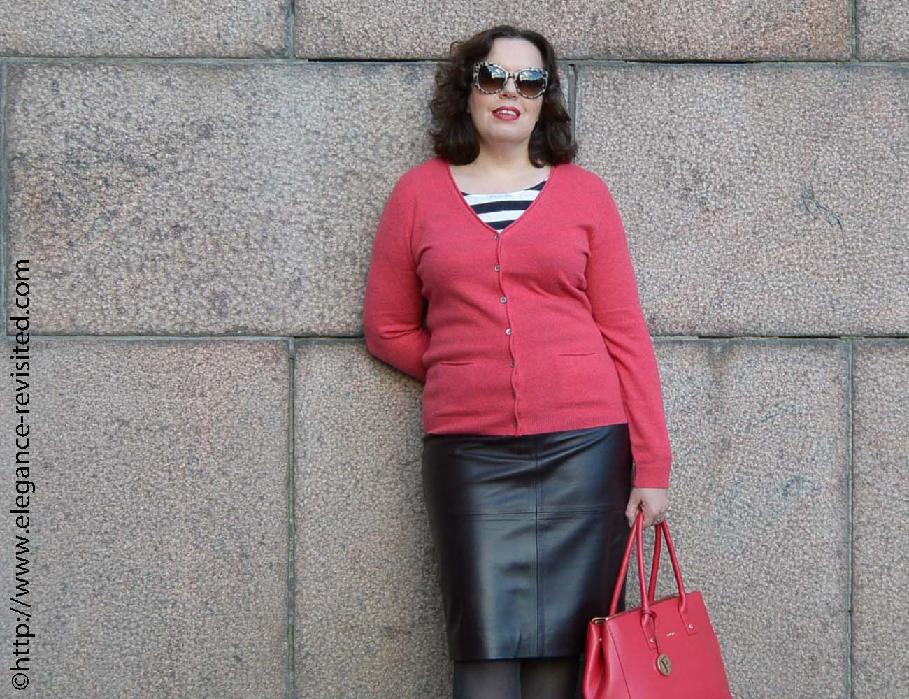 how to wear leather over 40