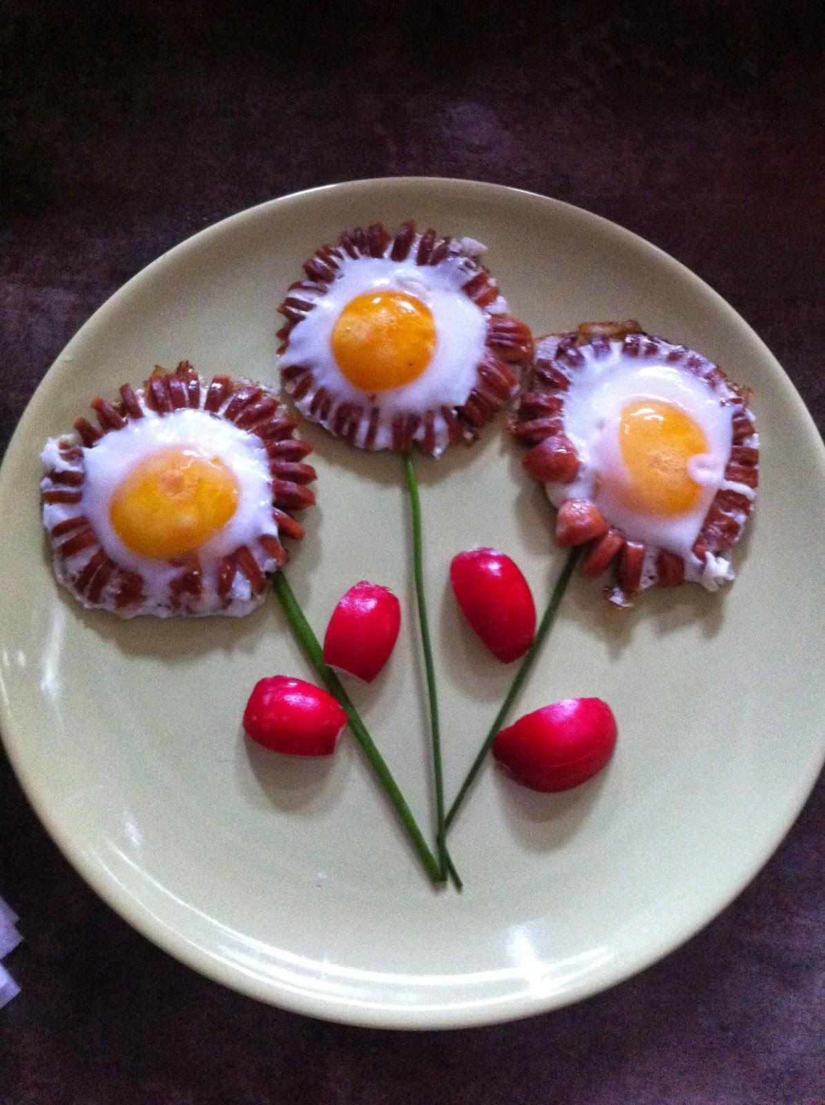 Kreatywne śniadanie :)