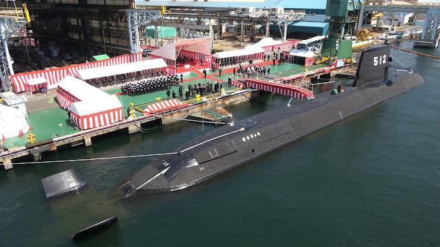 Japón pone en servicio su segundo submarino con baterías de iones de litio JS Toryu