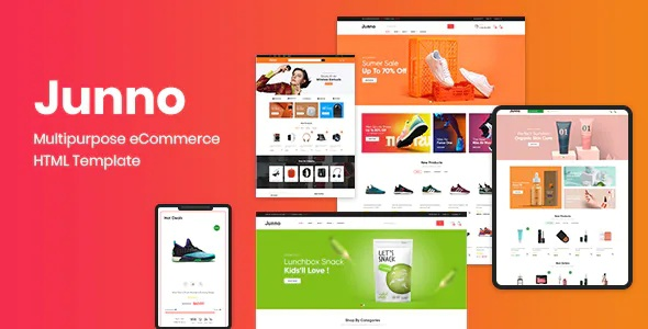 Best Multipurpose eCommerce HTML Template