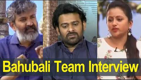 Prabhas and Rajamouli Interview With Suma Kanakala About Baahubali 2