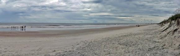 Strand vom Kathryn Abbey Hanna Park, Jacksonville, Florida USA