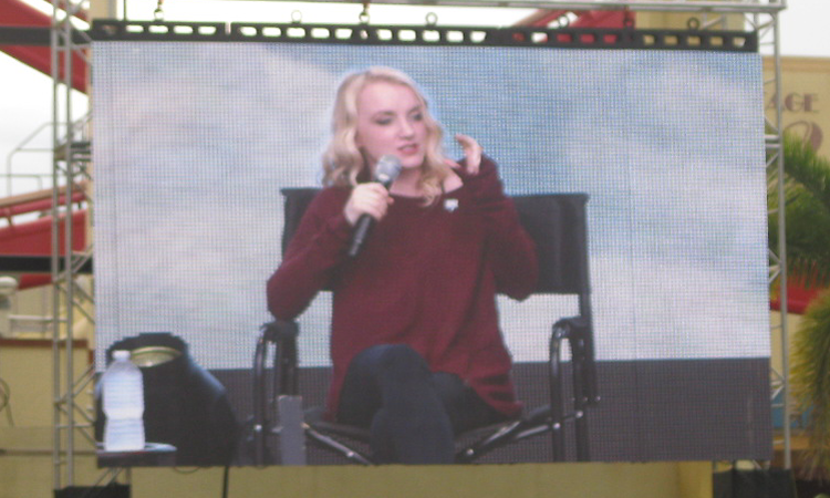Evanna Lynch A Celebration of Harry Potter 2016