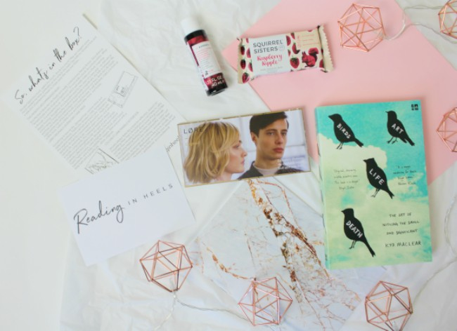 Reading in Heels January Subscription Box