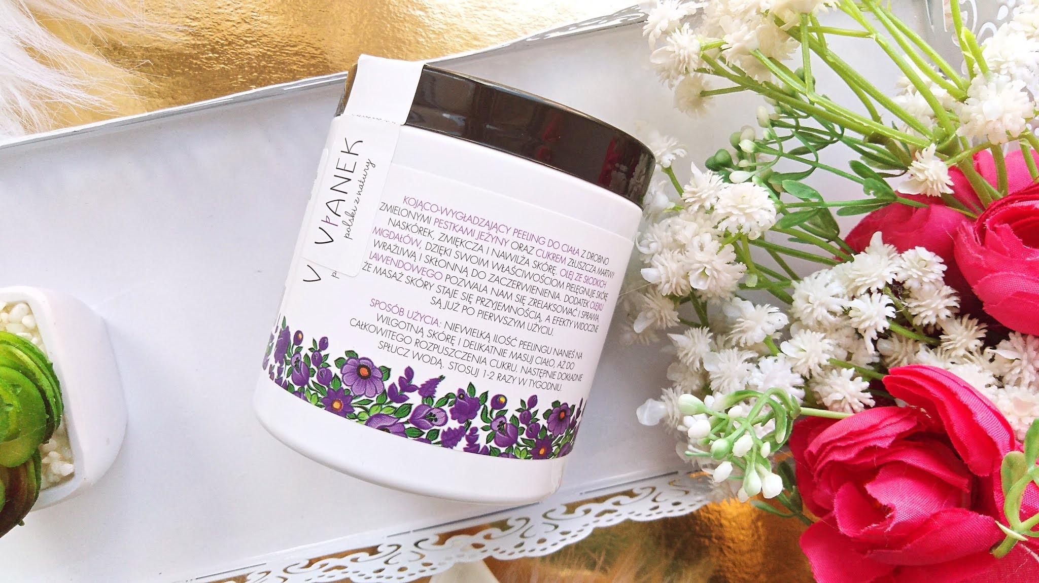 vianek kojący peeling do ciała, kosmetyki vianek blog kosmetyczny