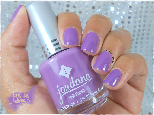 Silky Purple Jordana Nailpolish Esmalte