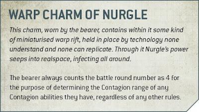 encanto disforme de Nurgle
