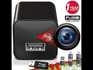 DIVINEEAGLE dual USB charger spy camera