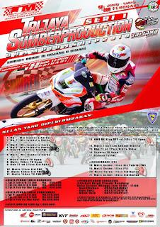 Road Race Trijaya Sumber Production 9-10 February 2018