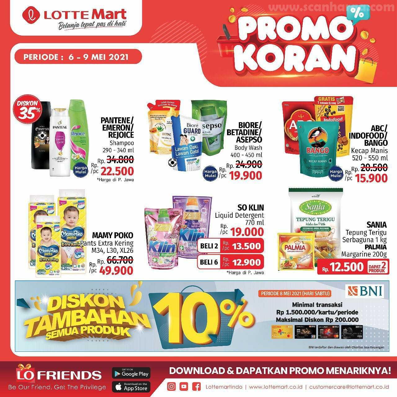 Katalog Promo Lottemart Weekend 6 - 9 Mei 2021 6