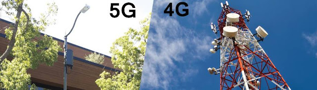 Perbedaan Jangkauan Jaringan Antara 3G, 4G dan 5G