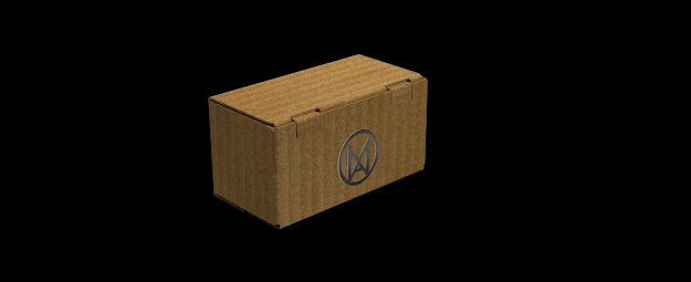 Design of Foldable Cardboard Box by Mechanical Nib