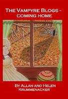 """The Vampyre Blogs - Coming Home""  Is available in Trade Paperback and Kindle at Amazon."