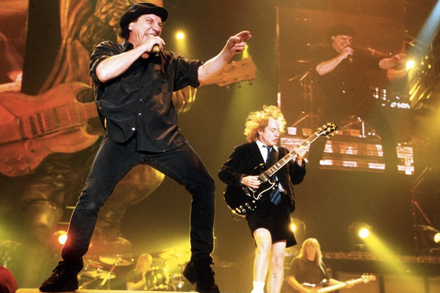 Acdc Touring Lineup