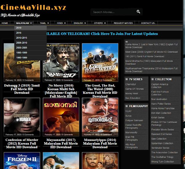 Cinemavilla Movie Download - Cinemvilla 2020 Malayalam Movie