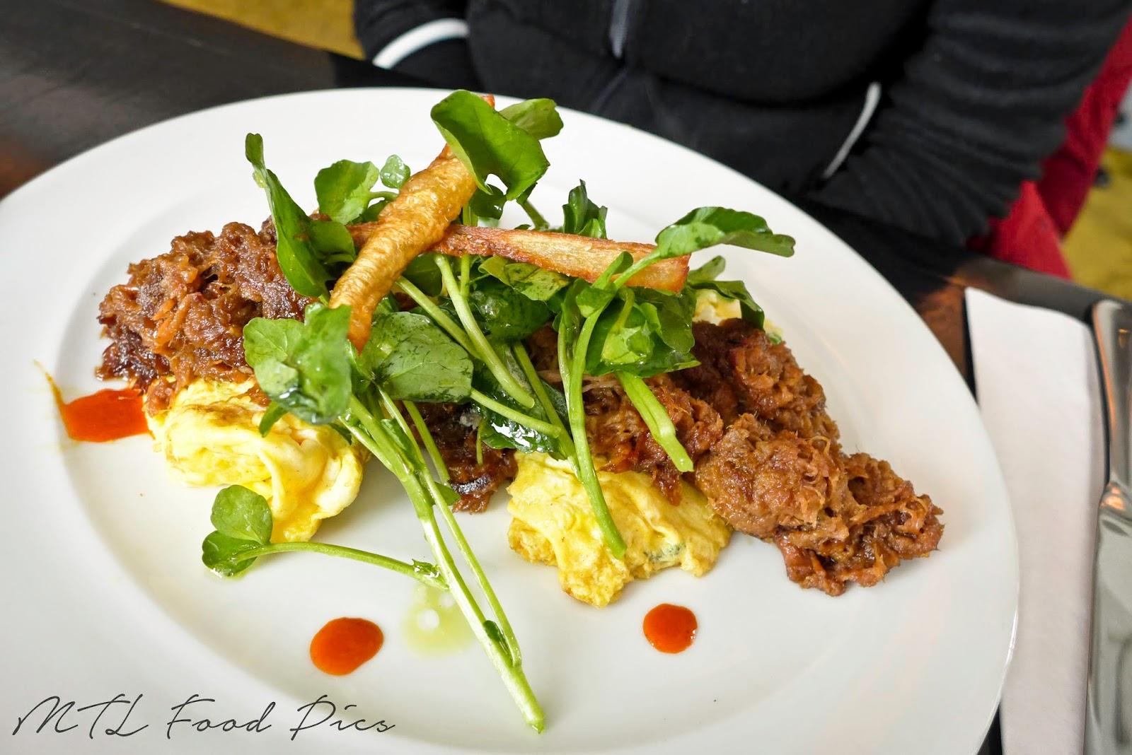 Carnitas, Scrambled Egg Brunch - Mexican Food Montreal