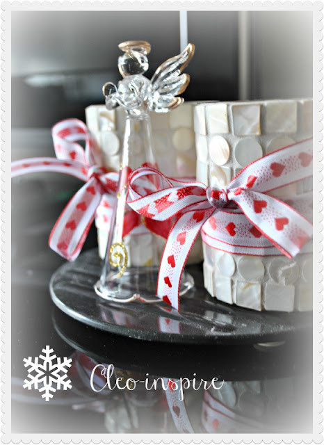 świecznik świąteczny diy