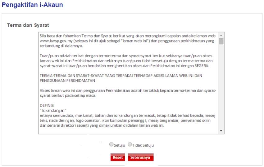 Cara login kwsp online