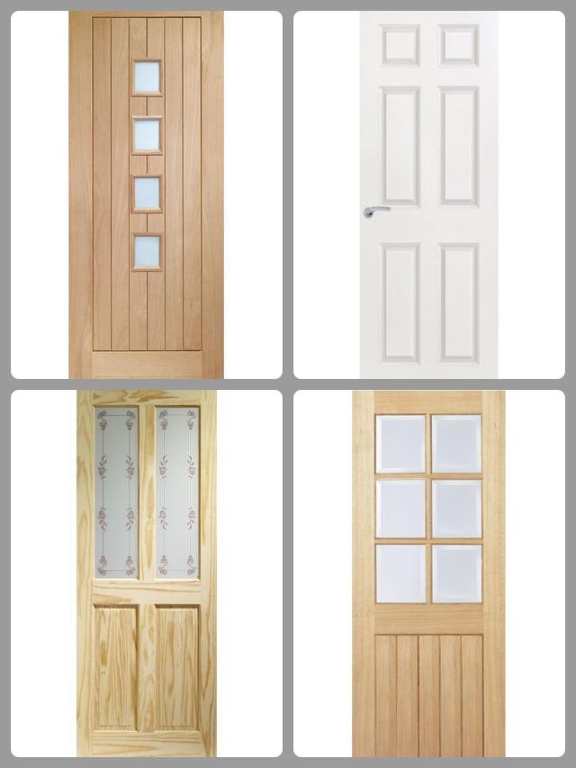 Interior door examples