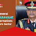 COAS General  MM Naravane, visits formation in Eastern Sector