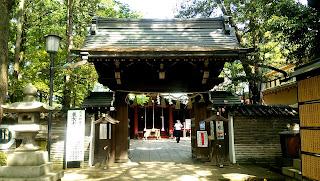 赤坂氷川神社 楼門