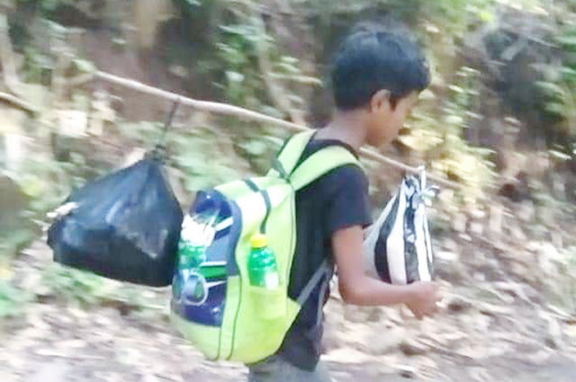 Bocah SD Ini Rela Jalan Kaki 6 Jam Tiap Hari demi Sekolah, Kisahnya Bikin Haru