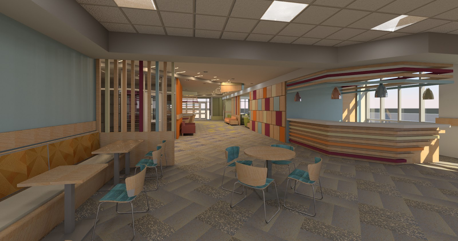 Reception desk rendering click for details revitcity com object