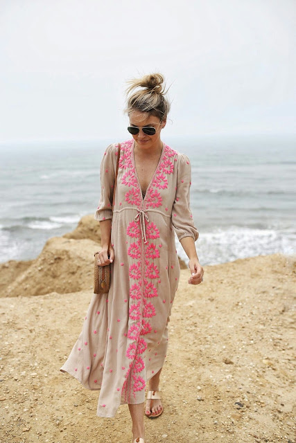 Embroidered-maxi-dress